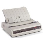 Microline 186 - Printer - monochrome - dot-matrix - 240 x 216 dpi - 9 pin - up to 375 char/sec - USB, serial