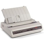 MICROLINE 186 9-Pin Parallel/USB Dot Matrix Printer - Black