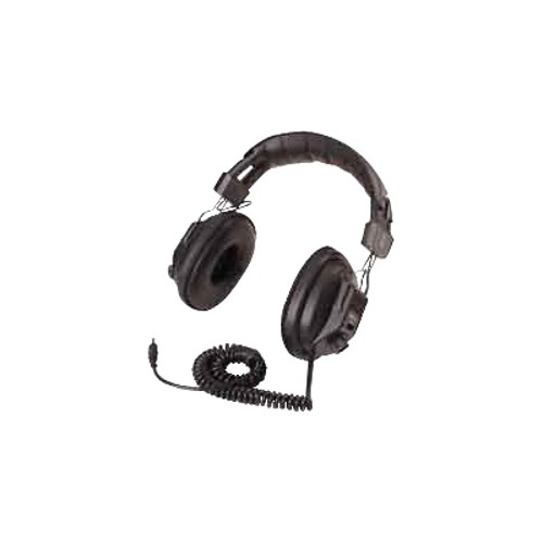 Califone International Switchable Stereo/Mono Headphone with earcup volume control