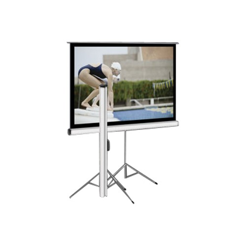 Elite Screens Tripod Series T100UWV1 - projection screen with tripod - 100 in ( 254 cm )