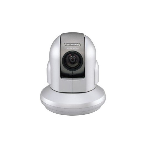 Panasonic Network Camera with Remote 350° Pan and 220° Tilt and 21x Optical Zoom