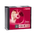 Imation 700MB 80 Min CD-R 52X 10 Pack 17332