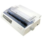 Microline 321 Turbo - Printer - monochrome - dot-matrix - 240 dpi x 216 dpi - 9 pin - up to 435 char/sec - parallel, USB - white