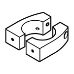Mounting Component - Bracket - Aluminium