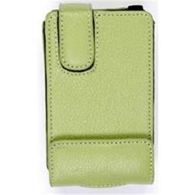 Wildcat Communications Wildcat iPod Desinger Leather Case- High quality rugged leather case for Apple iPod - (icase-green)