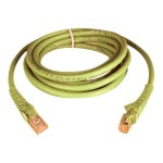 TrippLite 7ft. Cat6/Cat5e Network Patch Cable - Snagless - Yellow N201-007-YW