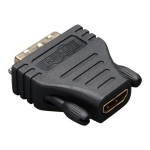 HDMI to DVI-D Cable Adapter Converter F/M - Display adapter - DVI-D (M) to HDMI (F)