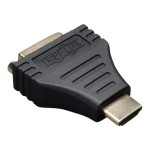 HDMI to DVI Cable Adapter Converter Compact HDMI to DVI-D M/F - Display adapter - DVI-D (F) to HDMI (M)