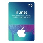 $15 iTunes Store Gift Card