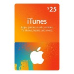 $25 iTunes Store Gift Card