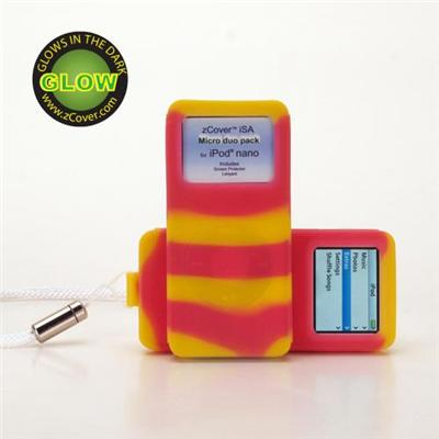 zCoveriSA micro silicone Duo Pack Cases for iPod nano 2GB/4GB, Candy Aloha color(APNANTPY)