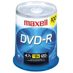 Maxell 16x 4.7 GB/120 Minute DVD-R Media, 100-Pack Spindle 638014