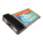 Cables Unlimited 2-Ports USB 2.0 Cardbus (PCMCIA) I/O Card IOC-3900