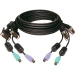 Keyboard / video / mouse (KVM) cable - PS/2, DVI-I to PS/2, DVI-I - 6 ft - for P/N: SC8PDV-201