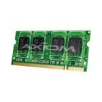 AX - DDR2 - 1 GB - SO-DIMM 200-pin - 400 MHz / PC2-3200 - unbuffered - non-ECC - for HP Pavilion dv8306, zd8003, zd8105, zd8122, zd8126, zd8129, zd8179, zd8200, zd8210, zd8225