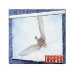 Draper, INC. Targa - Projection screen - motorized - 120 V - 4:3 - Fiberglass Matt White 116018