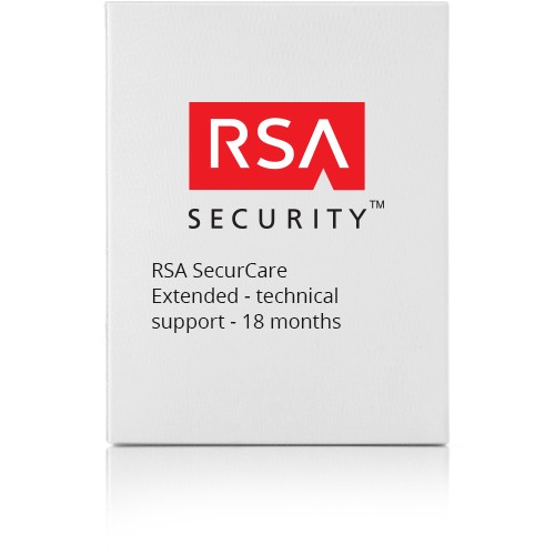RSA SecurCare Extended - technical support - 18 months - for  Authentication Manager Base Edition