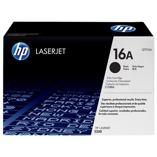 HP LaserJet Q7516A Black Print Cartridge