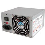 Reliable 350 Watt Dual 12V Rail ATX12V 2.01 Power Supply with 20 and 24-pin Connectors