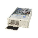 "Supermicro SuperServer 7045B-T - Server - tower - 4U - 2-way - RAM 0 MB - SATA/SAS - hot-swap 3.5"" - no HDD - ATI ES1000 - GigE - monitor: none"