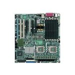 SUPERMICRO X7DAE - Motherboard - extended ATX - LGA771 Socket - 2 CPUs supported - i5000X - 2 x Gigabit LAN - 6-channel audio