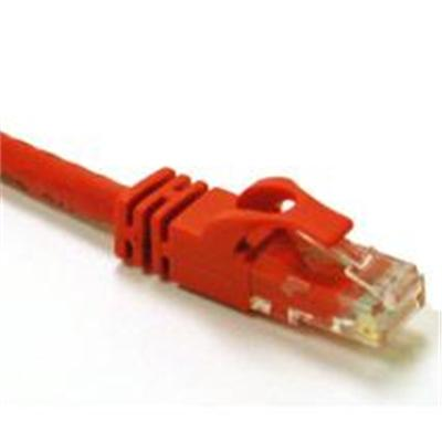 Cables To Go Cat6 Snagless Crossover Unshielded (UTP) Network Patch Cable - crossover cable - 14 ft - red (27864)