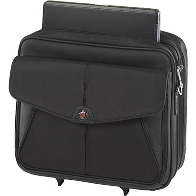 "Targus 15.4"" Trademark Rolling Laptop Case - Black (TCR001US)"