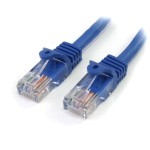3 ft Blue Cat5e / Cat 5 Snagless Patch Cable 3ft - Patch cable - RJ-45 (M) to RJ-45 (M) - 3 ft - UTP - CAT 5e - snagless - blue