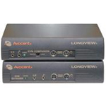 LongView Companion LV830 Transmitter and Receiver - KVM / audio / serial extender - up to 500 ft
