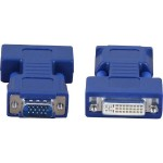 VGA adapter - DVI-I (F) to HD-15 (M)