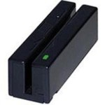 Magstripe Swipe Card Reader Mini Port-Powered RS-232 - Magnetic card reader - RS-232 - black
