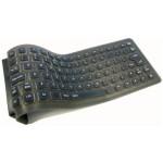 Flexible Mini Waterproof Keyboard - USB + PS/2