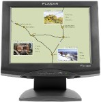 "PT1510MX - LCD monitor - 15"" - touchscreen - 1024 x 768 - 190 cd/m² - 500:1 - 8 ms - VGA - speakers - black"