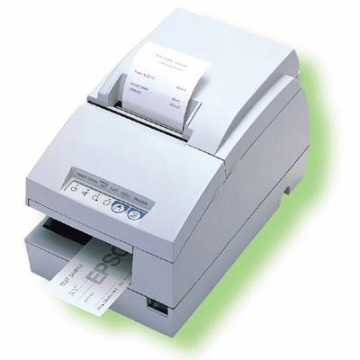 EpsonTM U675 Monochrome Dot-Matrix Receipt Printer with MICR - STN EDG(C283032)