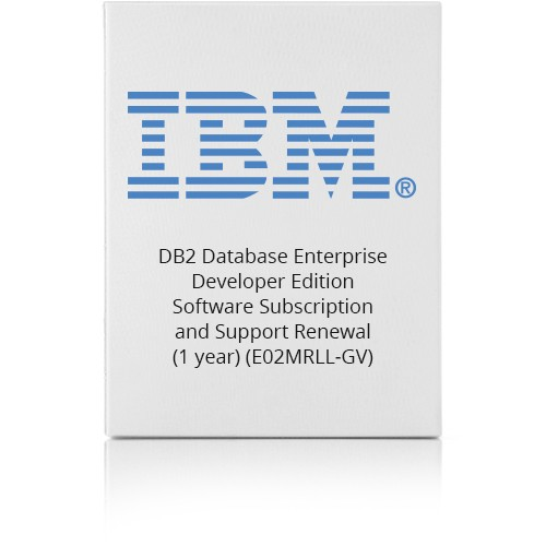 PCM | IBM, DB2 Database Enterprise Developer Edition - Software  Subscription and Support Renewal (1 year) - 1 authorized user - GOV -  Passport -