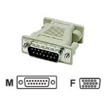 Mac DB15 Male to VGA HD15 Female Adapter - VGA adapter - DB-15 (M) to HD-15 (F) - molded - beige