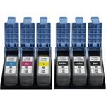 LUCIA PFI-102 C - 130 ml - cyan - original - ink tank - for imagePROGRAF iPF510, iPF610, iPF650, iPF655, iPF710, iPF750, iPF755, iPF760, iPF765, LP24