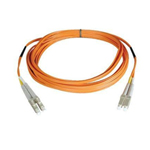 Duplex Multimode 62.5/125 Fiber Patch Cable (LC/LC), 1M (3-ft.)