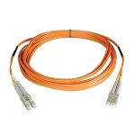 Duplex Multimode 62.5/125 Fiber Patch Cable (LC/LC), 2M (6-ft.)