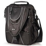 "13.3"" Mini Messenger - Black / Silver"