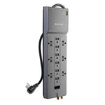 Home/Office Series Surge Protector 12 Outlet with Phone/Ethernet/Coaxial Protection & Extended Cord