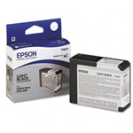 Epson 80ml Light Black UltraChrome K3 Ink Cartridge T580700