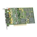 Dialogic D 4PCIUF - Voice/fax board - PCI - analog ports: 4