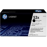 HP Inc. LaserJet Q7553X Black Print Cartridge Q7553X