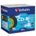 Verbatim Digital Vinyl - 10 x CD-R - 700 MB ( 80min ) - jewel case 94439