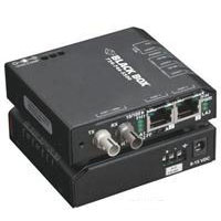 Media Converter Switch 10/100-Mbps Copper to 100-Mbps Fiber, 115-VAC, Multimode, ST - Fiber media converter - Ethernet, Fast Ethernet - 10Base-T, 100Base-FX, 100Base-TX - RJ-45 / ST multi-mode - up to 1.2 miles