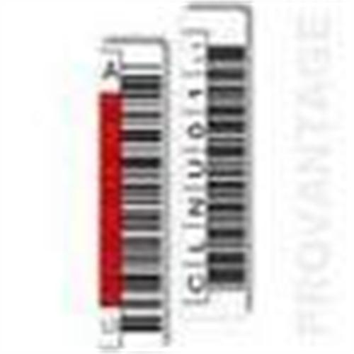 Minolta LTO-3 BARCODE LABELS-QTY 100 DATA QTY 1