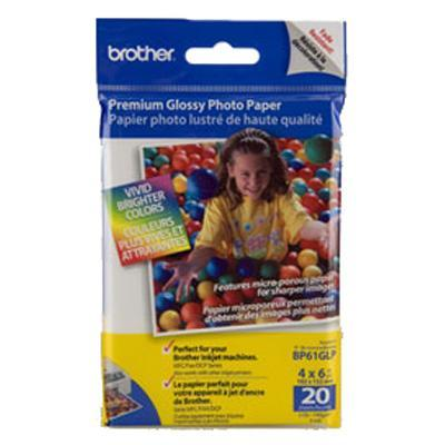 Brother High Gloss Inkjet Paper (20 sheets) 4