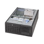 Supermicro SC745 TQ-800 - Tower - 4U - SATA/SAS - hot-swap 800 Watt - black - USB