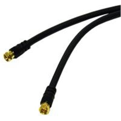 Cables To Go Value Series F-Type RG6 Coaxial Video Cable - RF cable - 12 ft (29133)